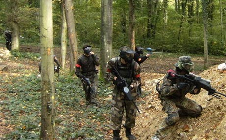 Terrain de paintball - Paintball Paris Ourcadia