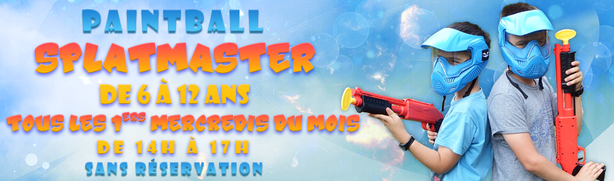Mercredi Paintball Enfants - 4 octobre 2017