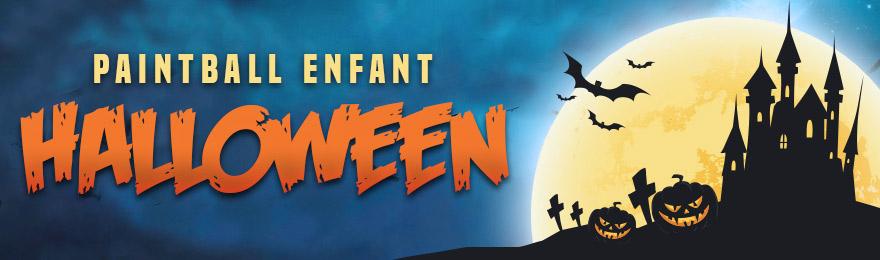 Halloween Paintball Enfant - 29 octobre 2016