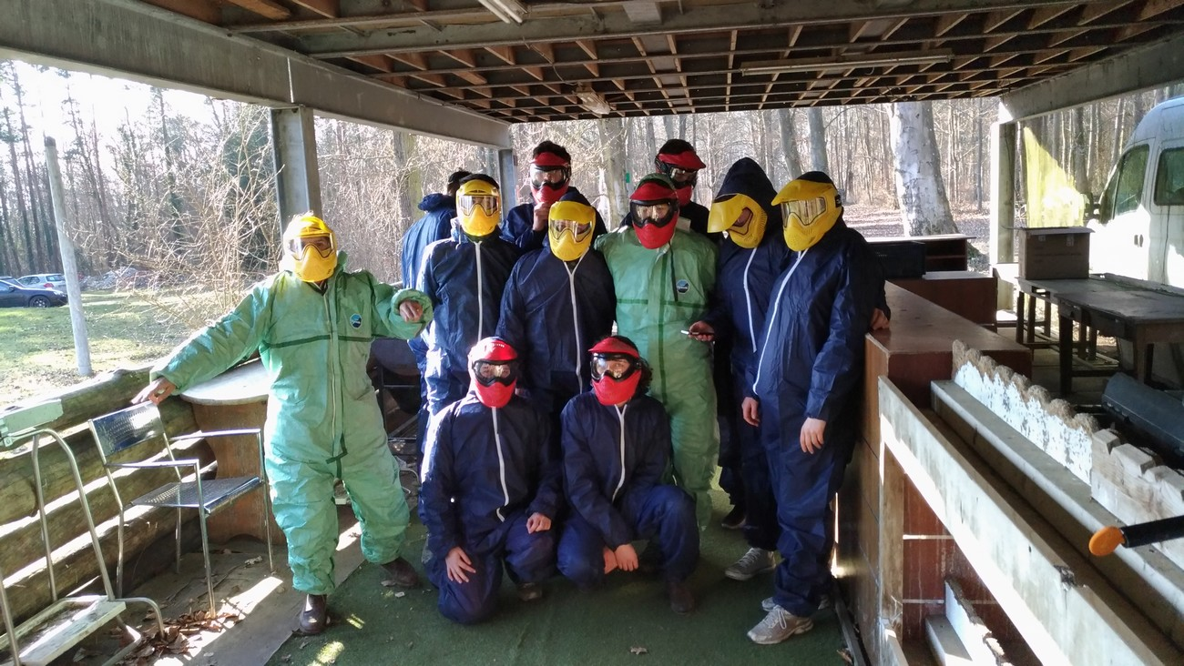 Groupe loisir Ourcadia paintball