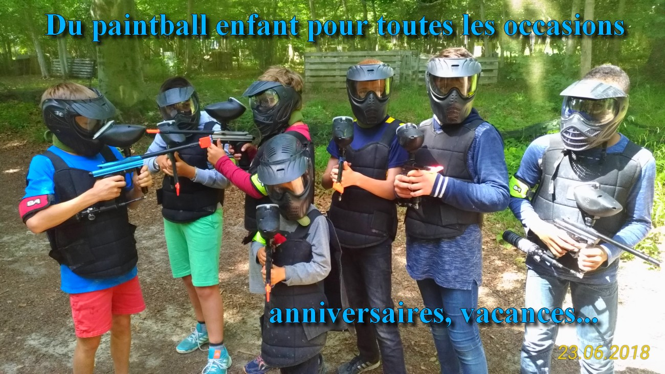 Paintball enfant seine et marne
